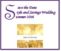 Style and Savings Wedding logo