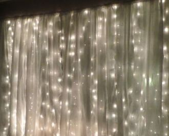 sparkle lights backdrop